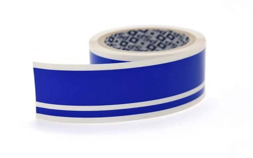 Blue Double Boat Stripes 40mm