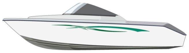 Sea Sabre Boat Graphics