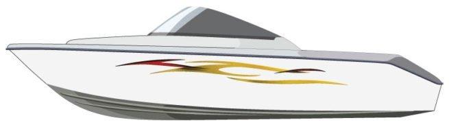 Tidal Rush Boat Graphics
